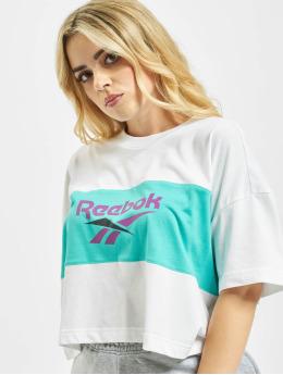 Reebok T-Shirt Classic V P Cropeed blanc