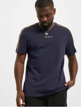 Reebok t-shirt TE Piping blauw