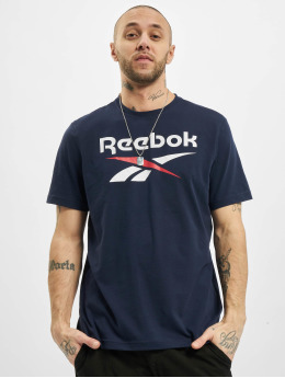 Reebok T-shirt Identity Big Logo blu