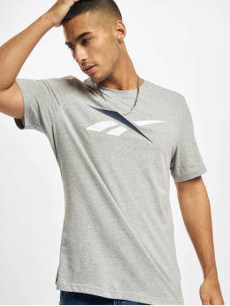 Reebok t-shirt TE Vector Logo grijs