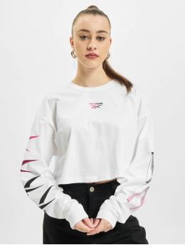 Reebok T-Shirt manches longues Classics Graphics Festival blanc