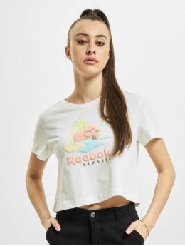 Reebok T-Shirt Graphics Summer weiß