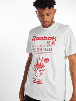 Reebok t-shirt Graphic ITL Noodles wit