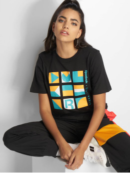 Reebok t-shirt Gigi Hadid zwart