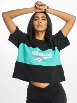 Reebok t-shirt Classic V P Cropeed zwart