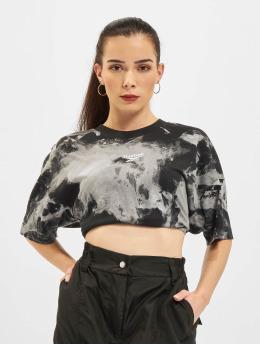 Reebok t-shirt Myt Aop Tie Dye zwart