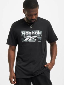 Reebok T-shirts Camo  sort
