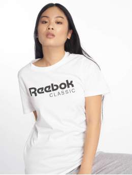 Reebok T-Shirty Classic bialy