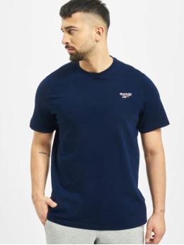 Reebok T-Shirty Classic F Small Vector niebieski