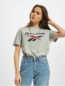 Reebok T-Shirty Identity Bl szary