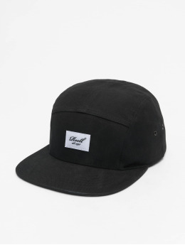 Reell Jeans 5 Panel Caps Denim musta