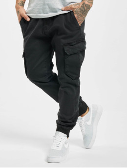 Reell Jeans Cargo pants Reflex Rib čern