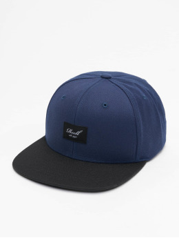 Reell Jeans Gorra Snapback Pitchout azul