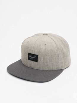 Reell Jeans Gorra Snapback Pitchout gris