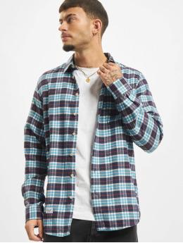 Reell Jeans Hemd Check  blau