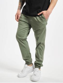 Reell Jeans joggingbroek Reflex 2 LW  olijfgroen