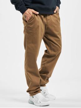 Reell Jeans Látkové kalhoty Regular Flex hnědý