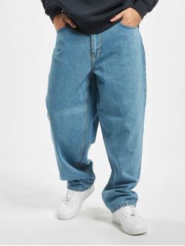 Reell Jeans Nohavice Baggy Baggy  modrá