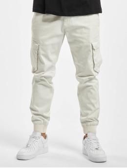 Reell Jeans Pantalon cargo Reflex Rib blanc