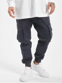 Reell Jeans Pantalon cargo Reflex Rib bleu