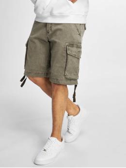 Reell Jeans Shortsit New Cargo oliivi