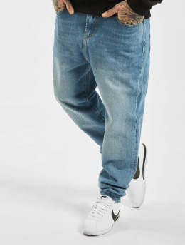 Reell Jeans Straight Fit Jeans Rex blå