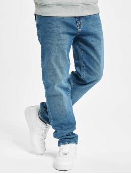 Reell Jeans Straight Fit Jeans Barfly modrý