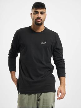 Reell Jeans T-Shirt manches longues Regular Logo noir