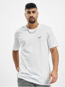 Reell Jeans T-Shirty Regular Logo bialy
