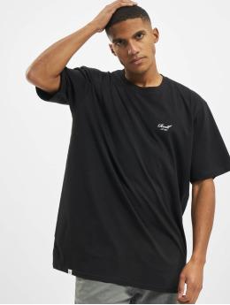 Reell Jeans T-Shirty Regular Logo  czarny