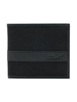 Reell Jeans Wallet Reell Jeans Canvas Leather black