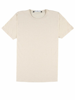 Revolution T-Shirt Round Neck beige