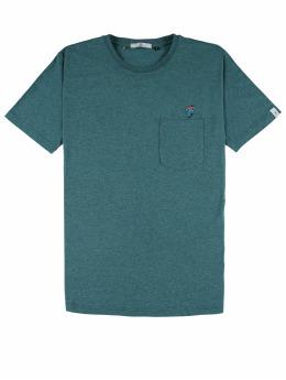 Revolution T-Shirt Pocket And Embroidery grün