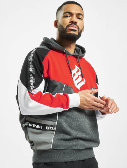Rocawear Hupparit  Saville Hoody Black Red ...