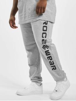 Rocawear Spodnie do joggingu Big Basic Fleece szary