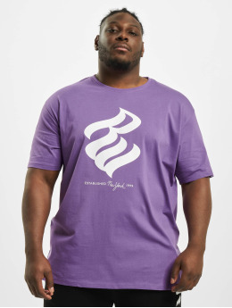 Rocawear T-Shirt  Big T-Shirt Purple White...