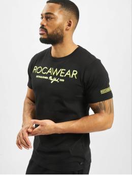 Rocawear T-Shirty Neon  czarny