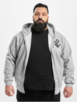 Rocawear Zip Hoodie Big Brand  grau