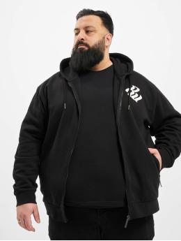 Rocawear Zip Hoodie Big Brand schwarz