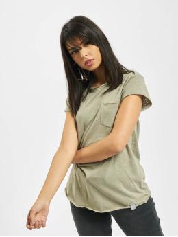 Rock Angel t-shirt Yuna olijfgroen