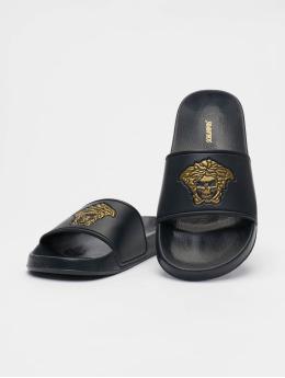 Schlappos Sandals Sace Head  black