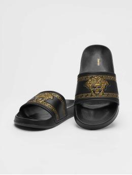Schlappos Sandals Sace Fun black