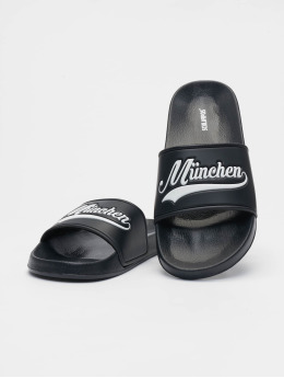 Schlappos Sandals München City  black