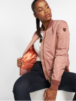 Schott NYC Bomber jacket Jktacw  rose
