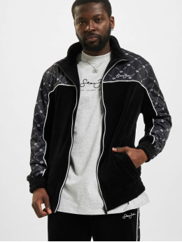 Sean John Демисезонная куртка Icon Aop Velours черный