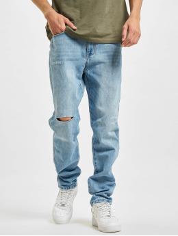 Sean John Straight fit jeans Classic Logo blauw