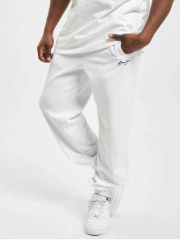 Sean John Sweat Pant Classic Logo Essential Velours white