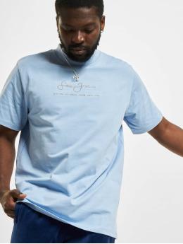 Sean John T-Shirt Classic Metall Logo bleu