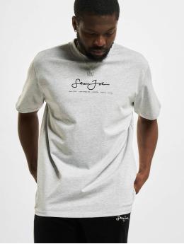 Sean John T-Shirt Classic Logo Essential grau