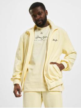 Sean John Übergangsjacke Classic Logo Essential Velours beige